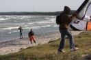Kiteschnitte in Mukran Rügen Ostsee 2008