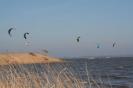 Kitesurfen Kitespot Trempt Ostern 2009